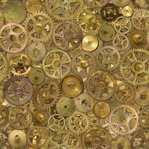 Steampunk Gears Pile