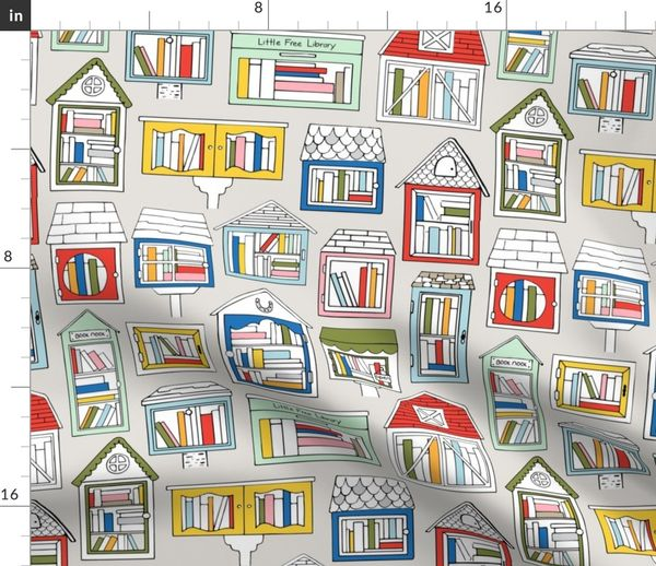 Take a Book, Leave a Book - Spoonflower