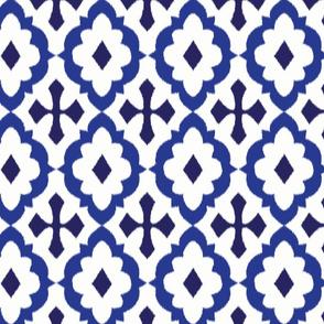 ikat - blue