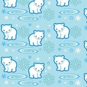 Polar Bear Light Blue