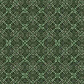 Little and Green: DiamondPlaid