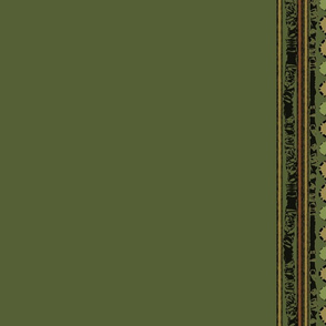 Hunters Center Panel Green