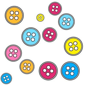 Buttons Fabric