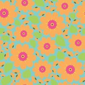 Peach Flower Print