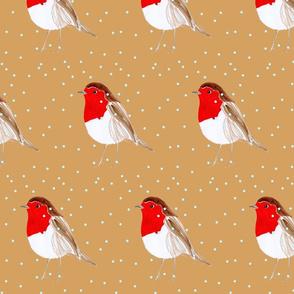 Christmas Robin Caramel