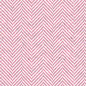 herringbone pretty pink