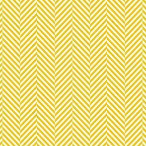 herringbone mustard yellow