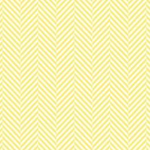herringbone lemon yellow