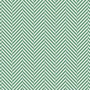 herringbone kelly green