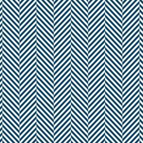 herringbone navy blue