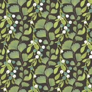 Wildwood: Ferns and Berries—Blue