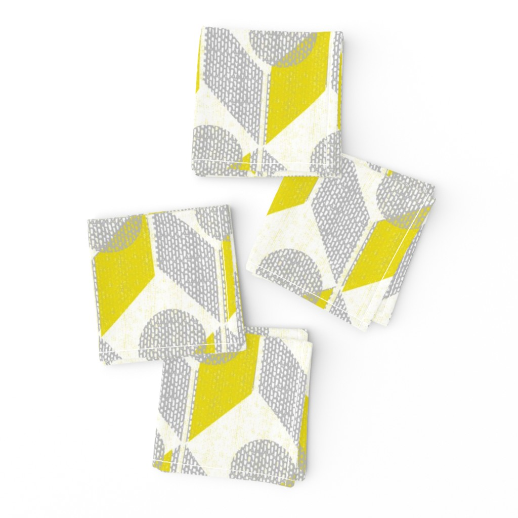 Frizzle Cocktail Napkins featuring dots on tables-geometric-mid century mod by ottomanbrim
