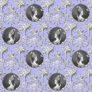 Marie Antoinette Medallion Swag ~  Regency