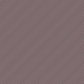 Diagonal ~  Dauphine and Black