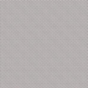 Lattice ~  Dauphine, Black and White