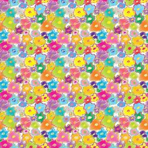 Scribble Flowers Brights