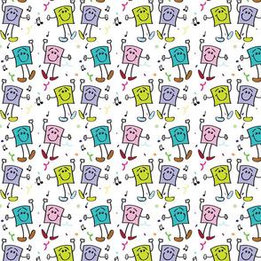Squares Dancing