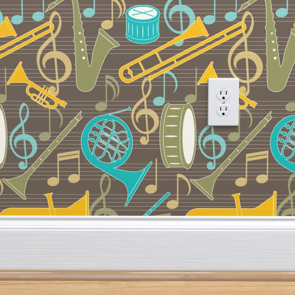 Marching Band On Isobar By Jjtrends Roostery Home Decor