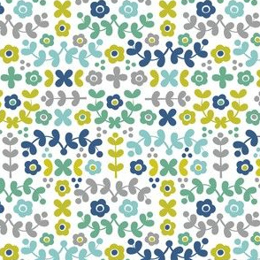 Folky Florals (cool)