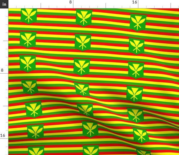 ChunLei Kanaka Maoli Native Hawaiian Flag Unisex Casual Daypack Travel Backpack Classic Canvas Rucksack Shoulder Backpack