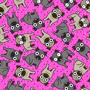 Pug-a-Dot (Pink)