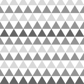Ombre Triangle Gray SMALL scale