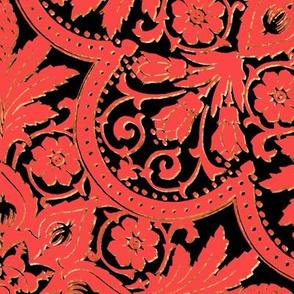 Bourgogne Tile ~ Madame du Barry ~ Large