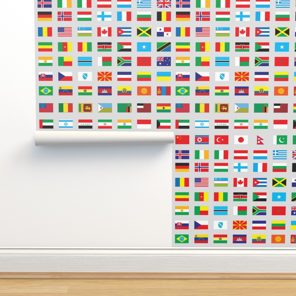 Modern Flags Of The World On Isobar By Aftermyart Roostery