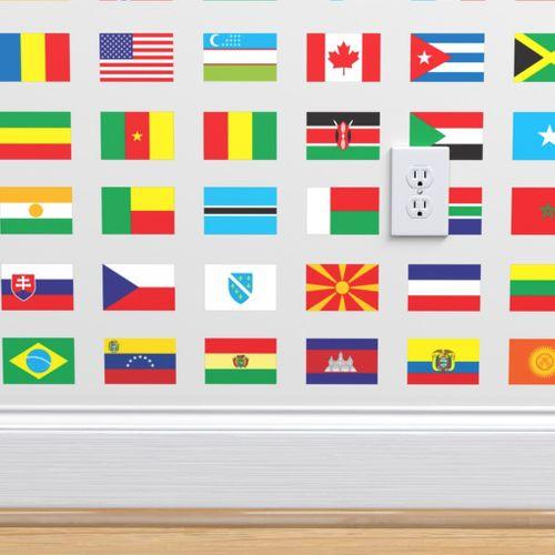 Wallpaper Modern Flags Of The World