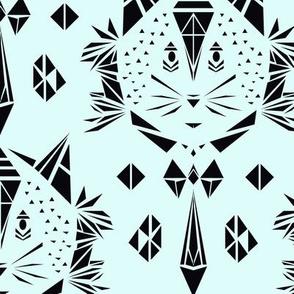 Cat damask (big)