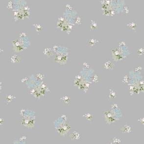 Vintage Bloom Grey