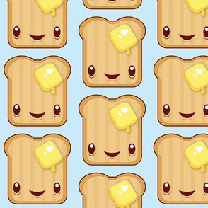 Buttered Kawaii toast