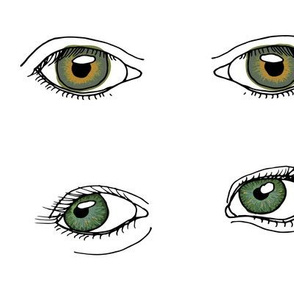 Eyes for Quilting - Jumbo - Mixed Colours