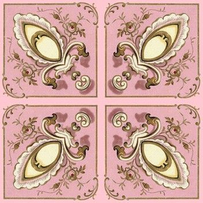 Petit Trianon ~ Flourish Tiles