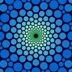03504735 : eye of dragon : blue + green