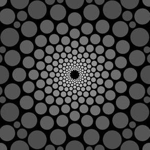 03504779 : eye of dragon : charcoal black