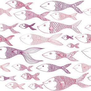 Here Fishy Fishy - Berry