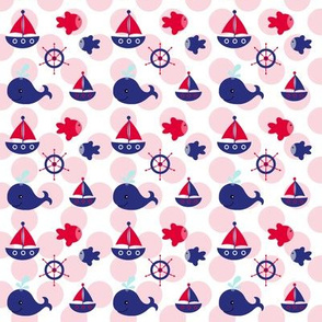 Boating Fun on Red Dots
