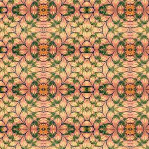 Tile, Green, White Floral, Jaipur