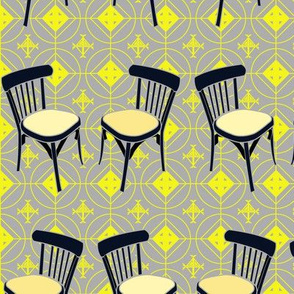 Retro bistrot chairs