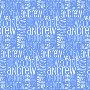 Personalised Name Design - Blue 3