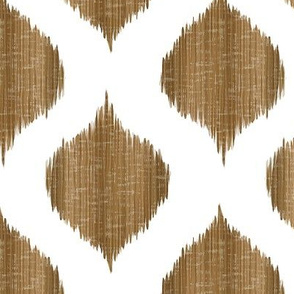 Lela Ikat in Chestnut