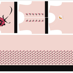 Rock-N-Roll Rose Dress Sewing Kit - Size 9
