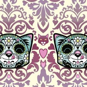 candy_cat_damask