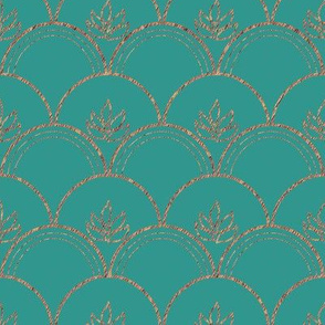 Clamshell-embroidery-fill-clamsCopper-brtMgrn