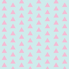 Triangle Pink and Blue