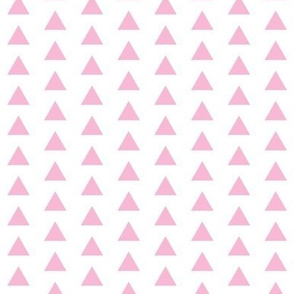 Triangle Baby Pink