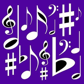 Pretty Musical Notes
