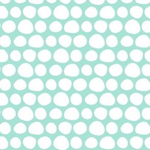 Mint Green Spots