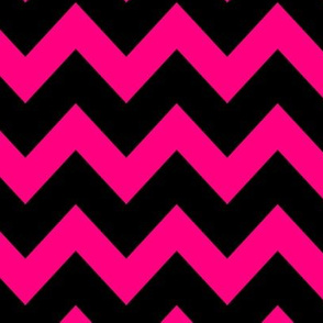 Crazy Pink Chevron